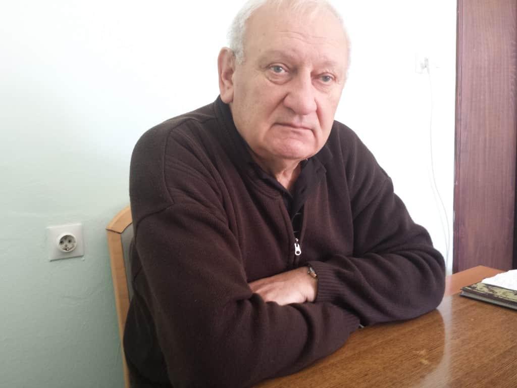 Petar Pepa Bursać, predsednik Sportskog saveza opštine Apatin.
