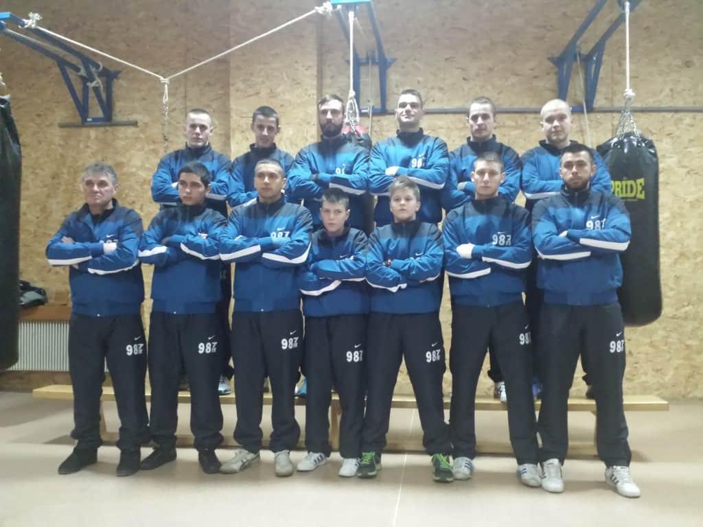 Bokserski klub Apatin, početak priprema, 2015