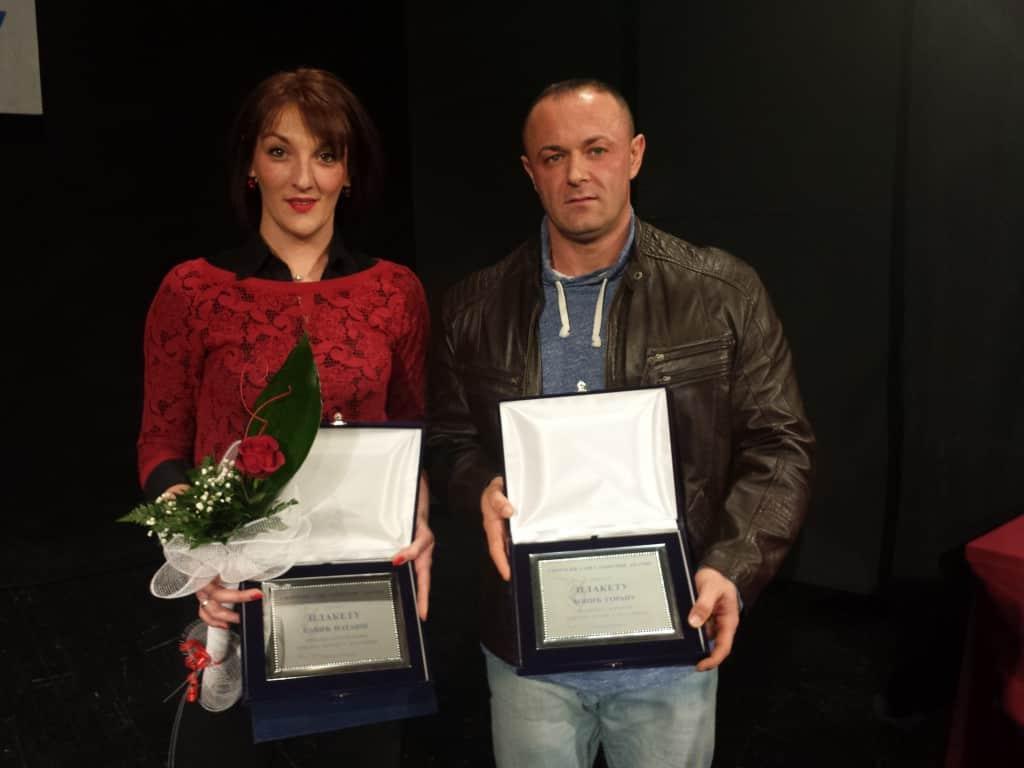 Najbolji sportisti za 2014, Nataša Savić i Goran Ćopić