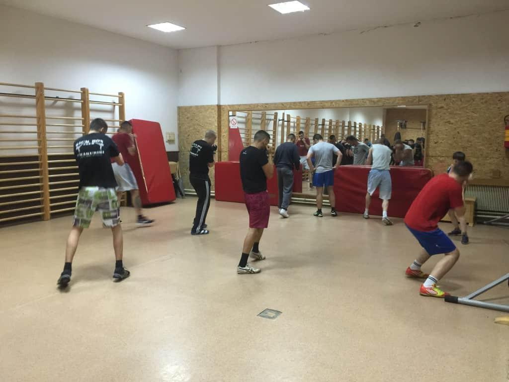 Bokserski klub Apatin, trening, april 2015 (2)