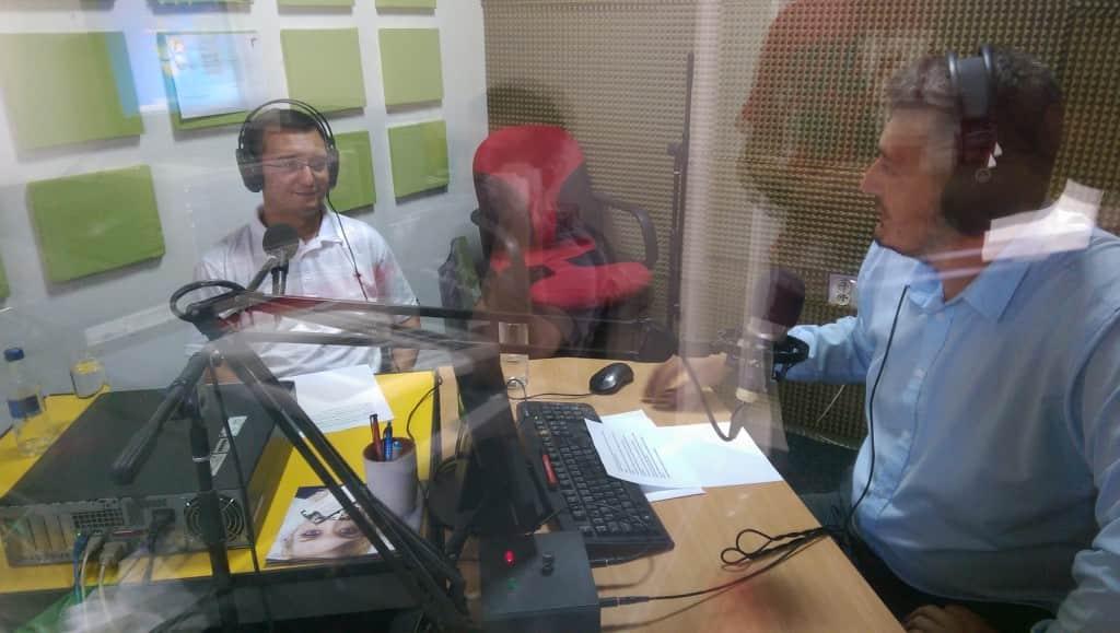 Damir Zobenica , SNS , gost u studiju , Dunav radio 2015