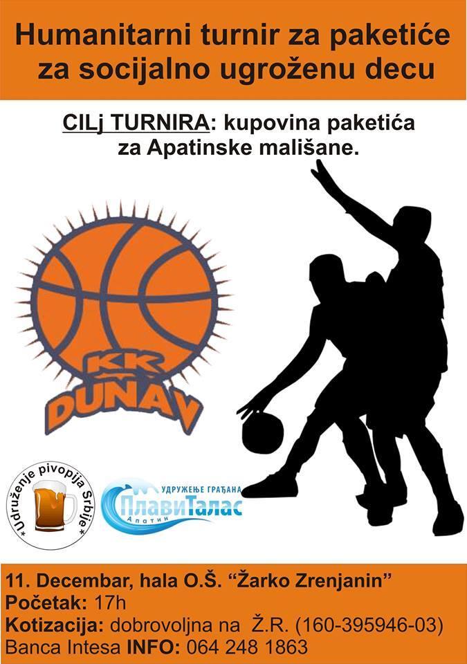 plakat turnir u basketu