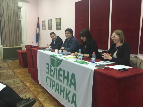 Osnivanje OO stranke Zelenih, Apatin, februar 2016