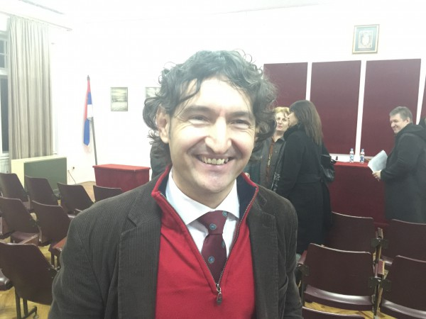 Miodrag Perović, Osnivanje OO stranke Zelenih, Apatin, februar 2016