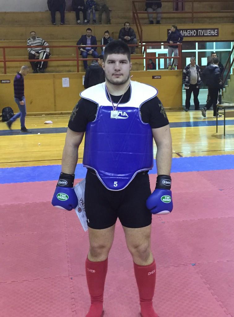Otvoreno prvenstvo Srbije u borilačkim veštinama, kung fu i sanda borbama,Prigrevica 27 februar 2016