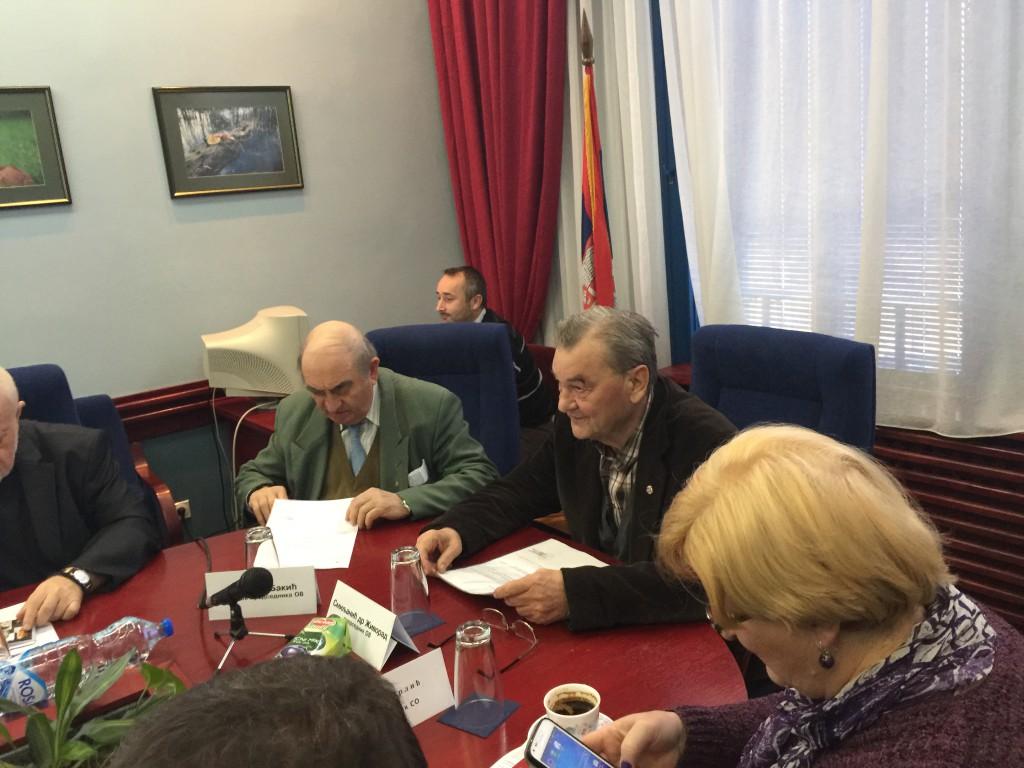 11. Vanredna sednica opštinskog veća, mart 2016