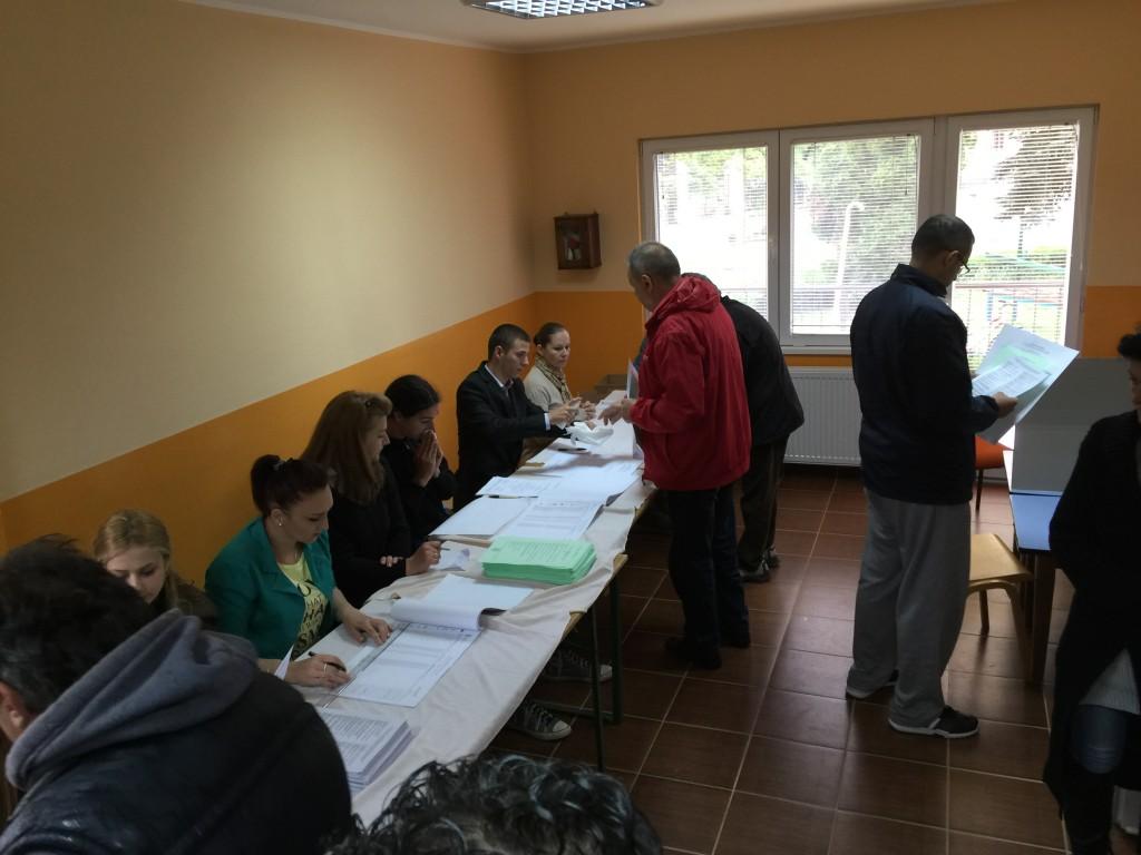 Lokalni izbori , Apatin, 2016, Biračko mesto zabavište Kalvarija