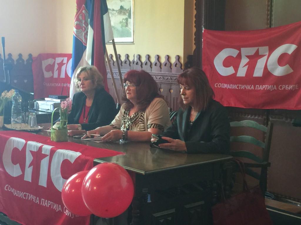 Tribina žene u politici, forum žena sps-a