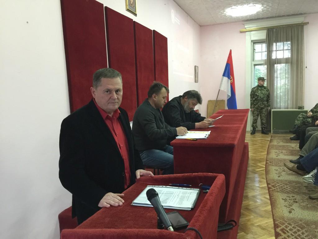 Željko Obradović, rezervne vojne starešine, dan Vojske Srbije, Apatin, 23 aparil 2016