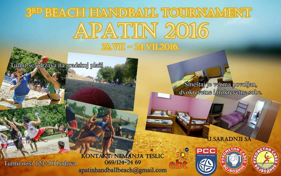 Beach handball toutnament