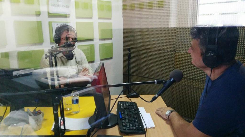 Radivoj Sekulic, predsednik opstine Apatin, radio dunav (1)