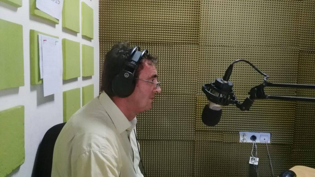 Radivoj Sekulic, predsednik opstine Apatin, radio dunav