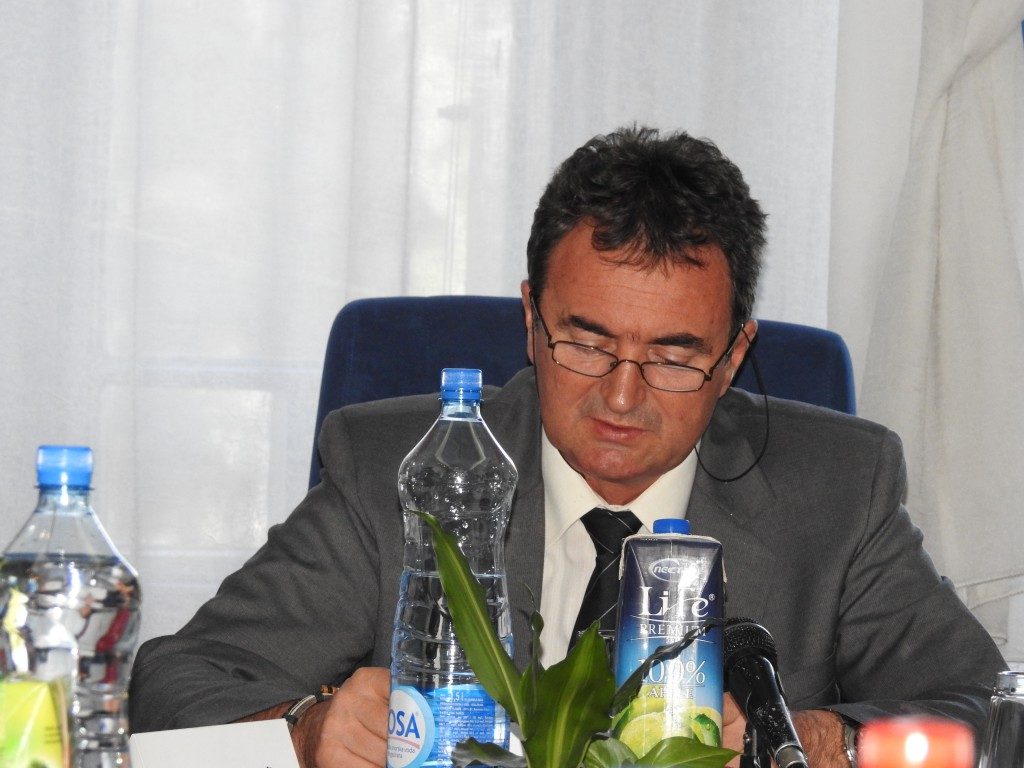 Radivoj Sekulić, predsednik opštine Apatin ,6.Sednica Opštinskog veća opštine Apatin, 26.08,2016