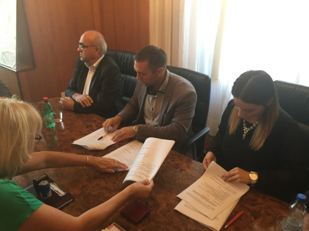 Potpisivanje Aneksa ugovor, Slobodna zona Apatin 2016