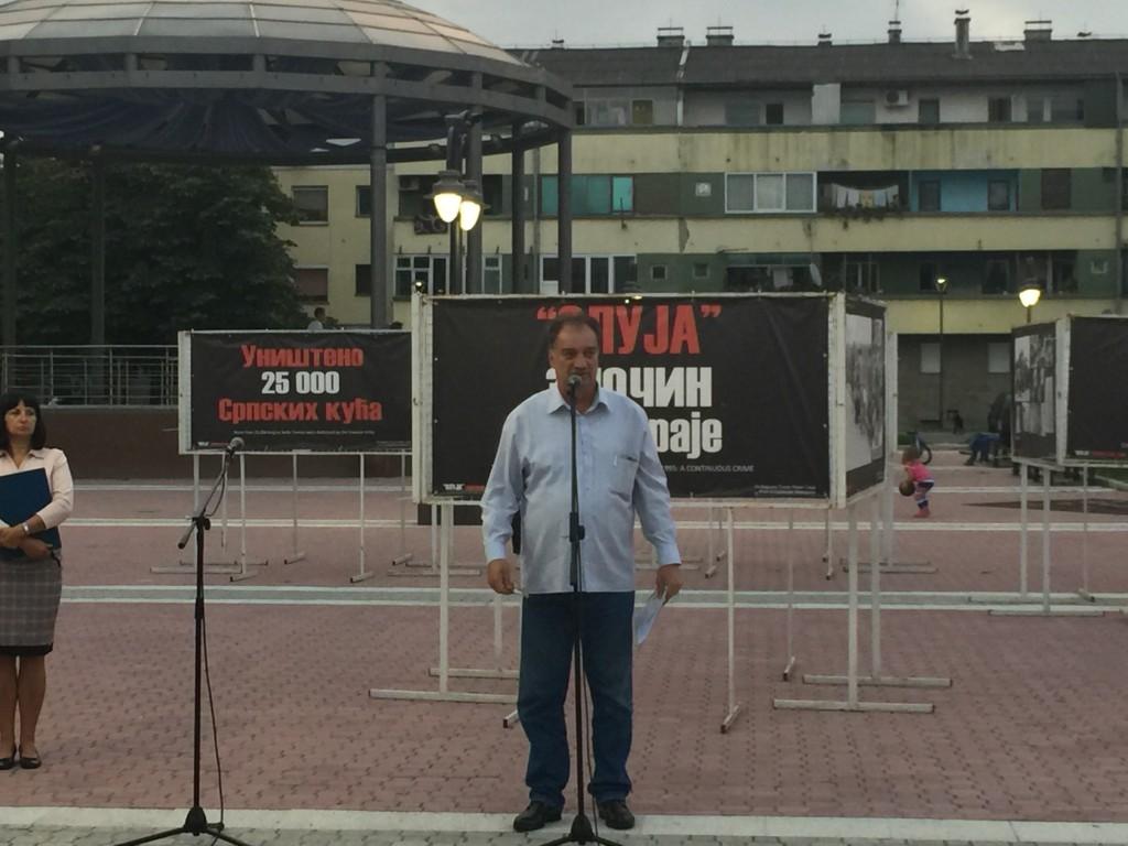 Javni čas, Oluja Zločin koji traje, tribina u Apatinu 2016