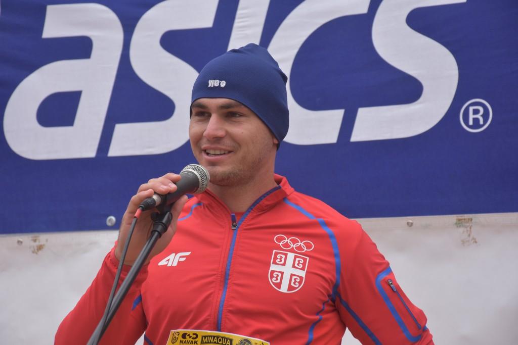 21.DUNAVSKI POLUMARATON (56)Marko Tomićević, kajakaš olimpijski vicešampion u kajaku dvosedu na 1.000 metara