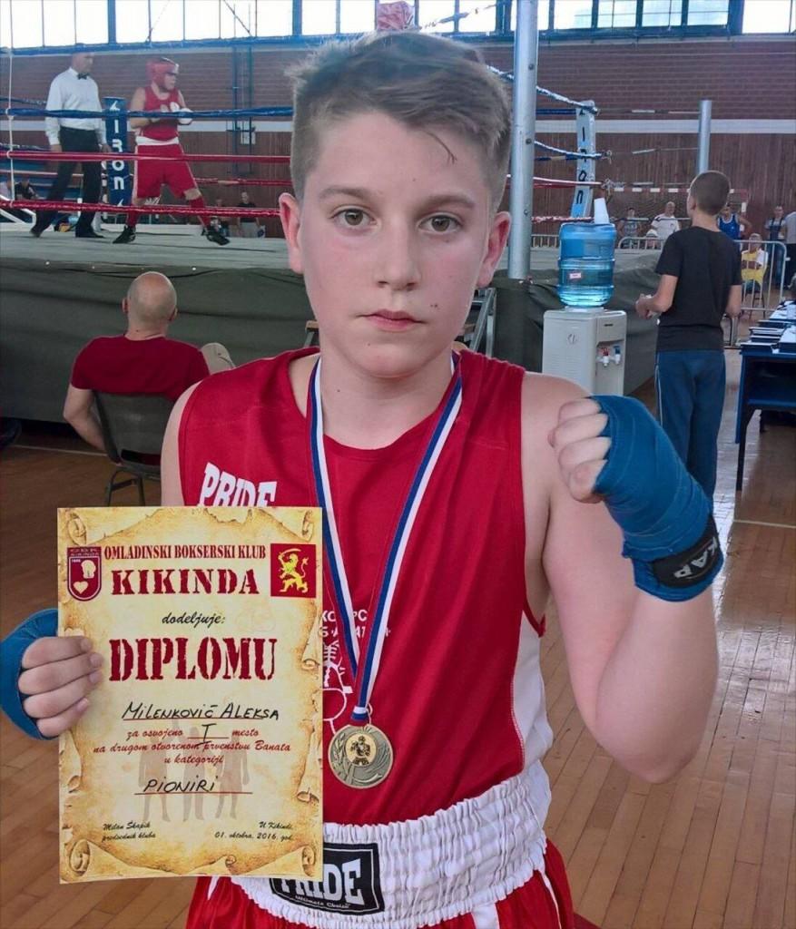 Aleksa Milenkovic BK APATIN