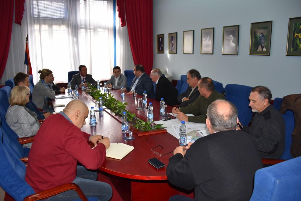 Pokrajinski sekretar za urbanizam i zaštitu životne sredine Vladimir Galić poseta opštini Apatin