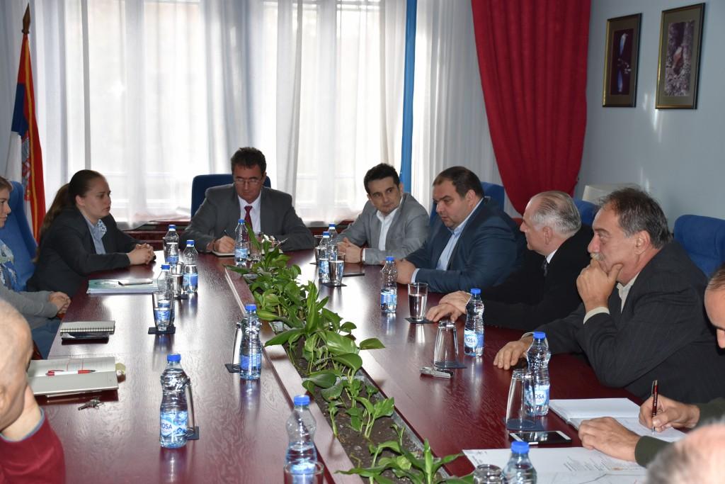 Pokrajinski sekretar za urbanizam i zaštitu životne sredine Vladimir Galić, poseta opštini Apatin