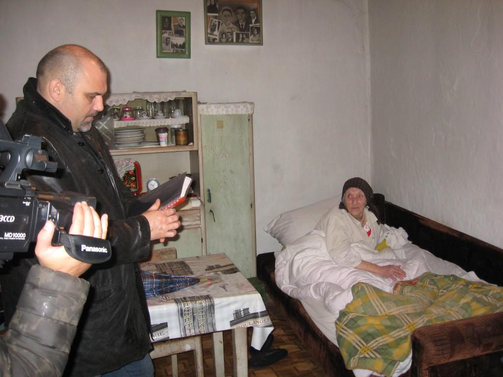 Vladimir Vukosav , Centar posetio staračka domaćinstva, Prigrevica 2016