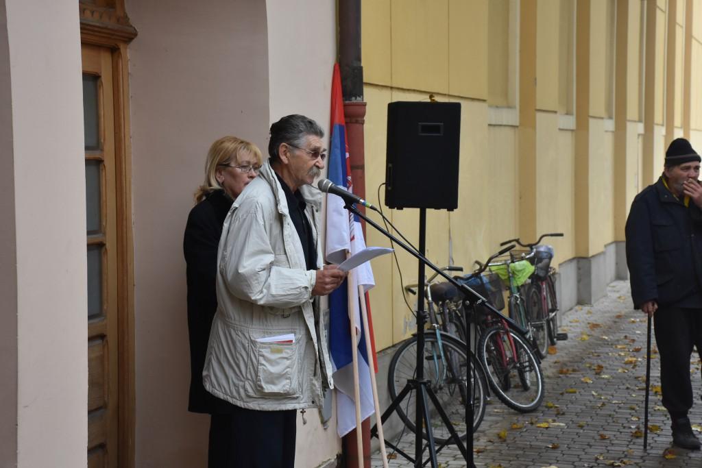 Stevo Drača, Dan Opštine Apatin, 24.oktobar 2016, polaganje venaca (24)