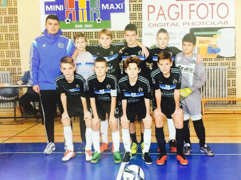 FK Olimpik Apatin, SOS Liga buducih sampiona (3)