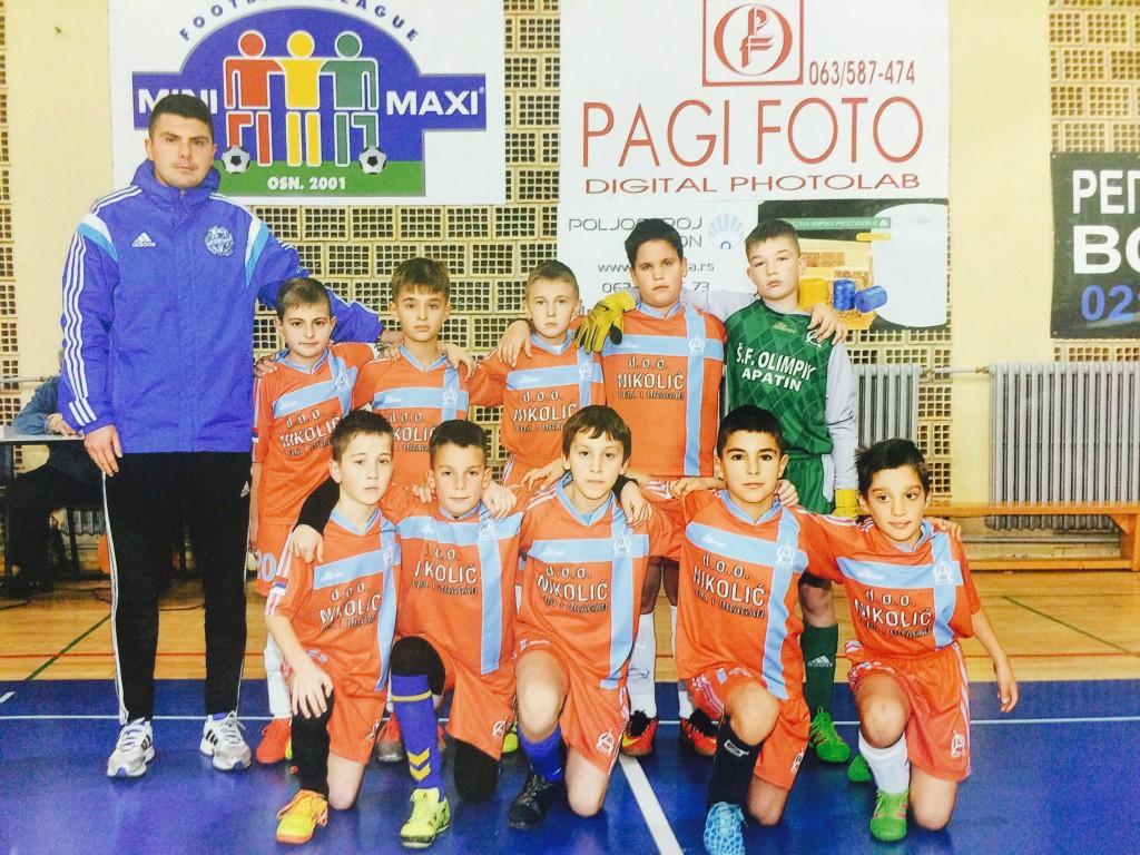 FK Olimpik Apatin, SOS Liga buducih sampiona (5)