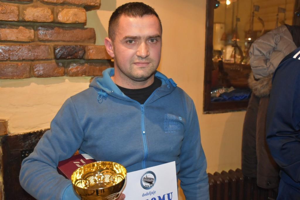 Srđan Majstorović,5.međunarodna smuđijada, Apatin, novembar 2016, Čikla