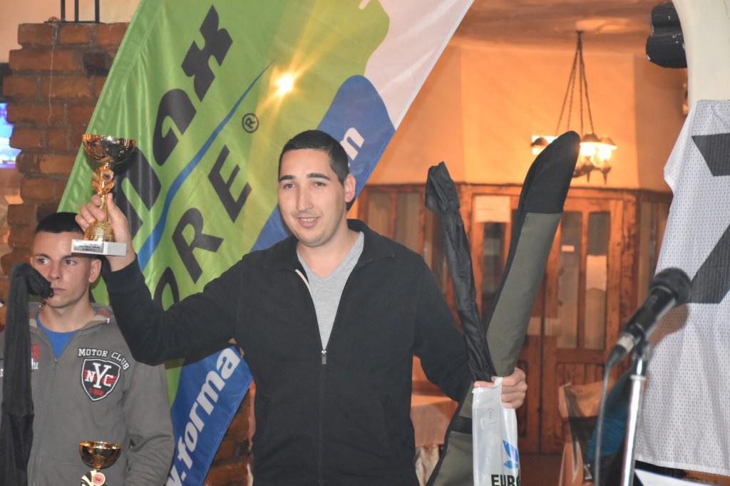 Bajić Slobodan,5 smuđijada, Apatin, novembar 2016,