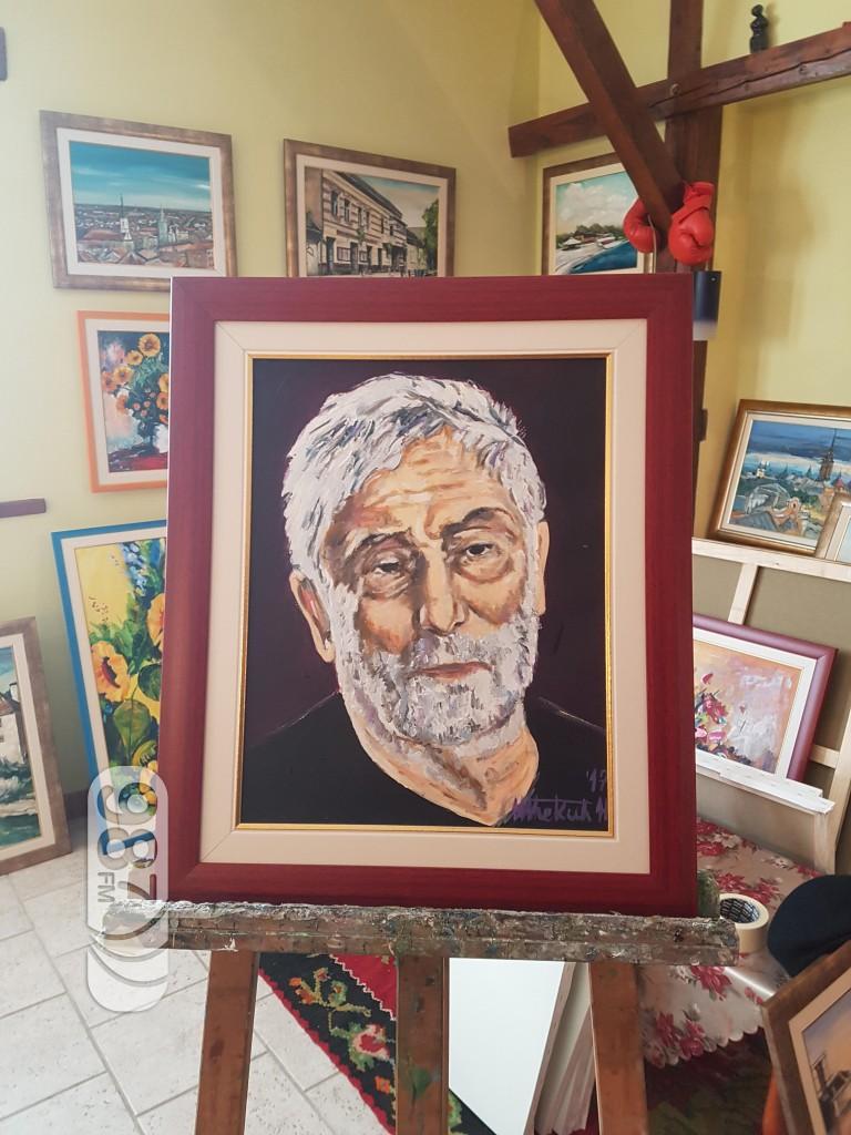 Ljubomir Pavlović, srpski slikar, Atelje Šćekić,