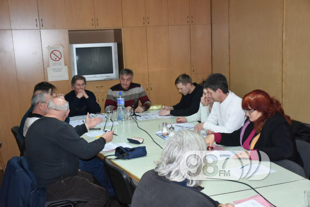 Sednica saveta mesne zajednice Apatin, februar 2017