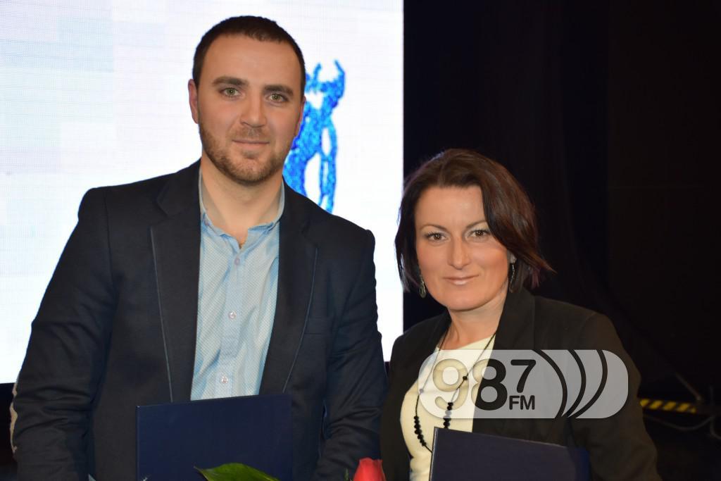 Čedomir Milojević, Marijana Lukić Čegar-Izbor sportiste godine 2016, Apatin , februar 2017 (96)