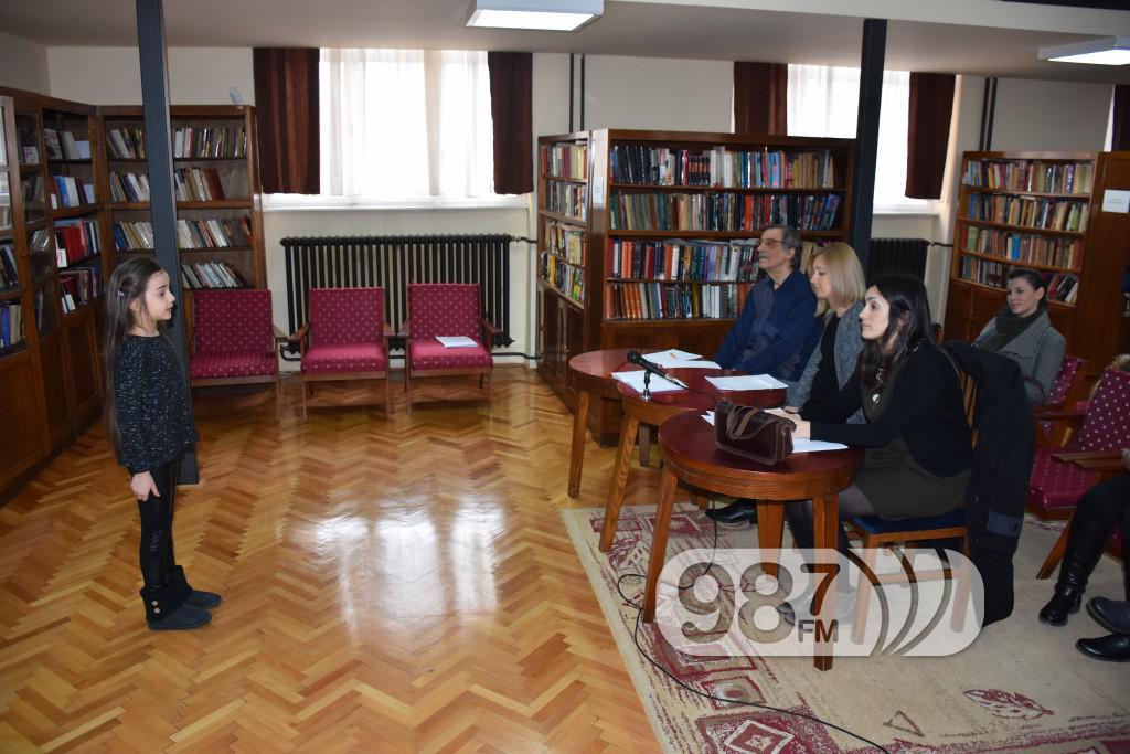 Recitatori opštinsko takmičenje Apatin,2017, biblioteka Miodrag Borisavljević (1)