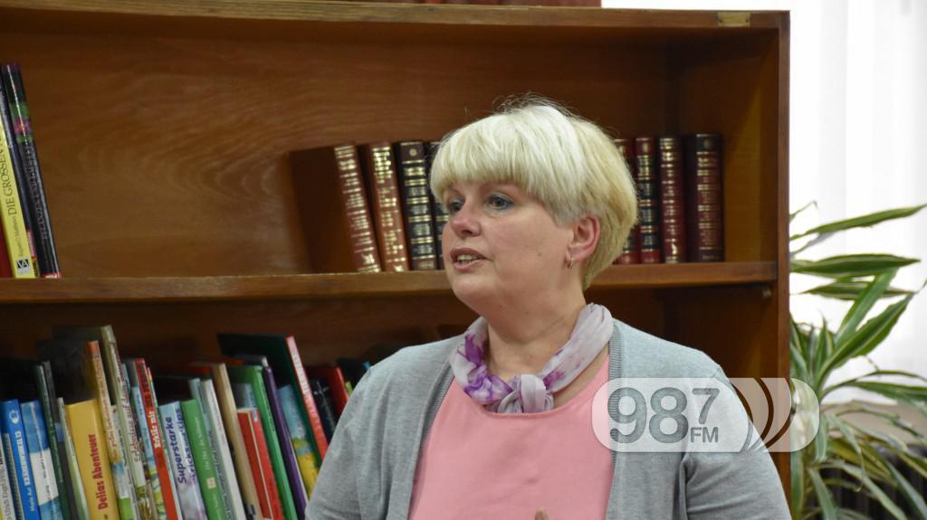 Đerđi Šarić, Prevencija raka dojke, tribina, Biblioteka Apatin mart 2017 (8)