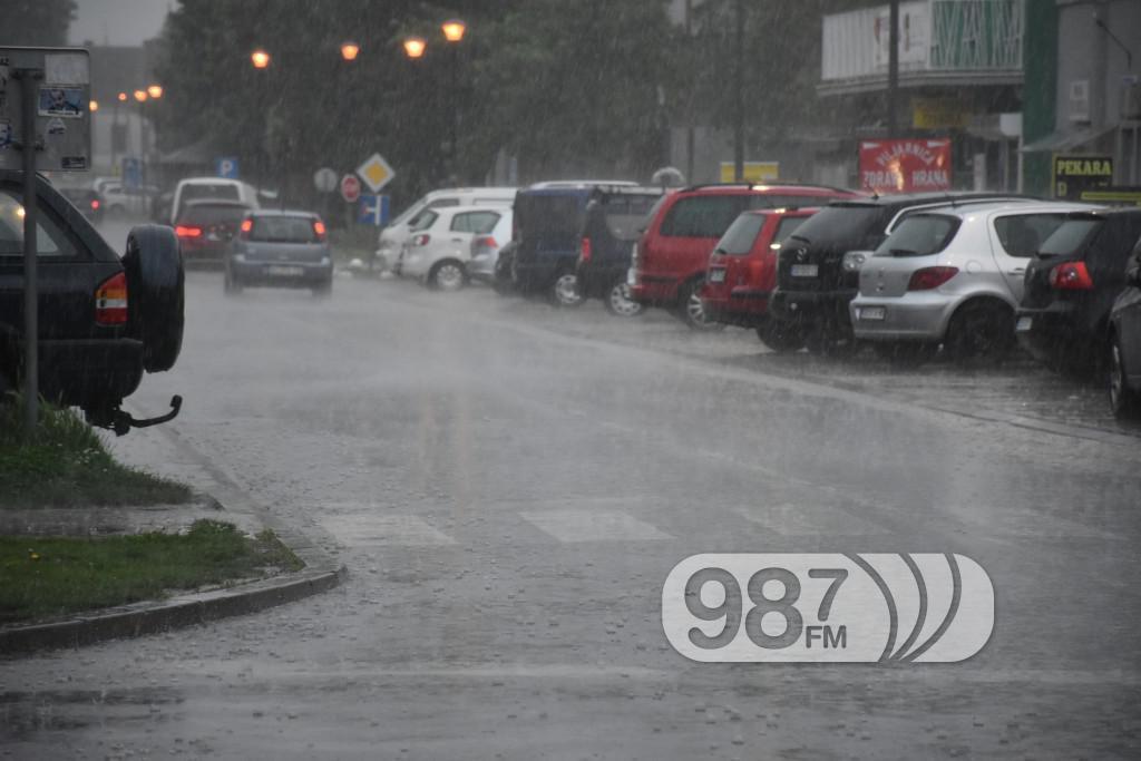 Pljusak , Apatin, maj 2017, kiša