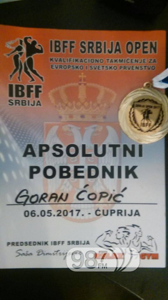 Goran Copic, prvenstvo u Cupriji (1)