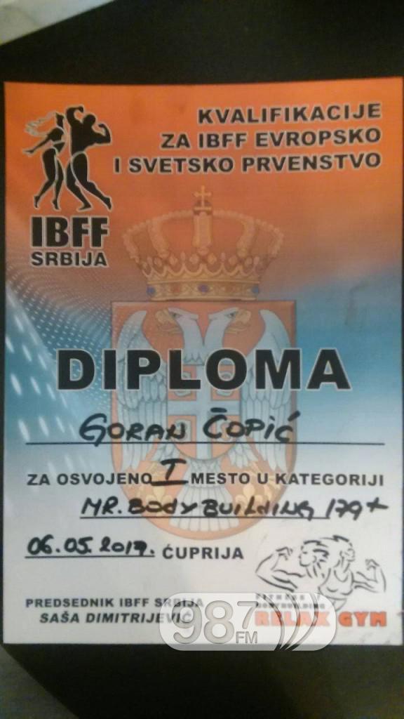 Goran Copic, prvenstvo u Cupriji (2)