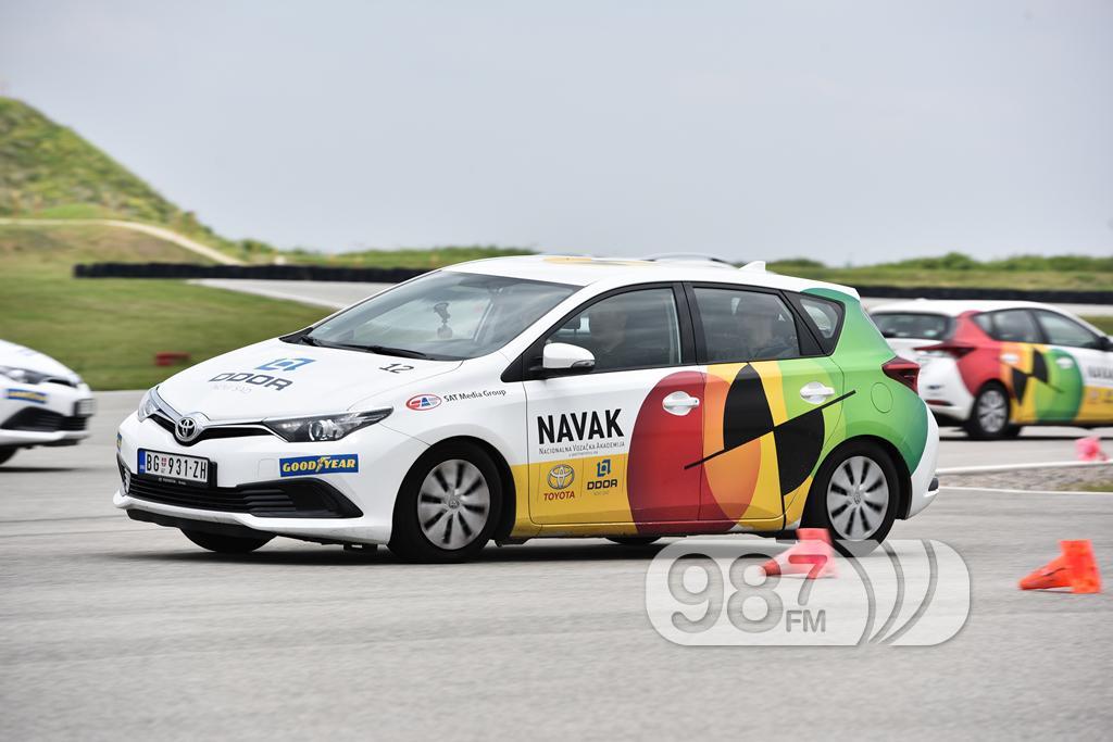 Prakticni deo treninga Zivot za mlade vozace #1