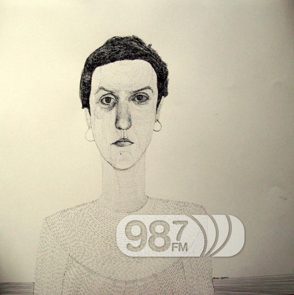 naslovna autoportret I tus i  pero