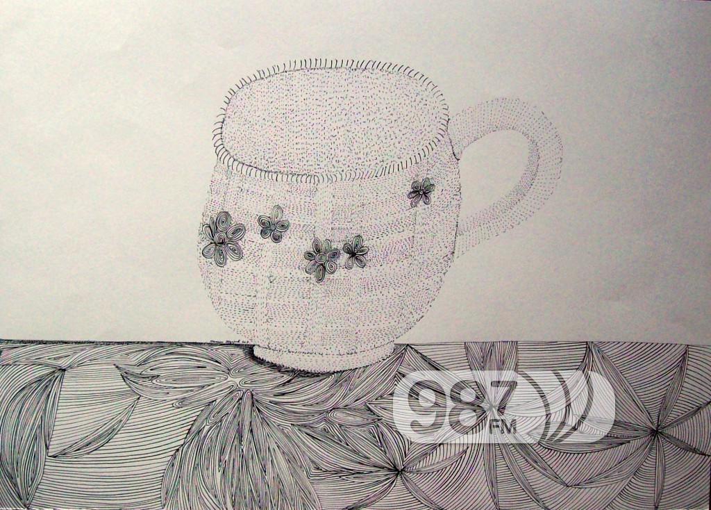 soljica za kafu tus i pero