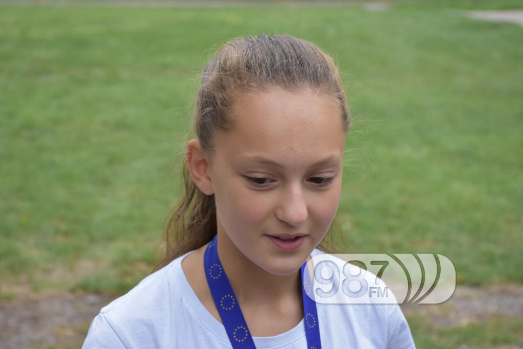 KUD Mazoret Sonta, docek , prijem, prvakinje evrope, Valentina Nikolic (3)