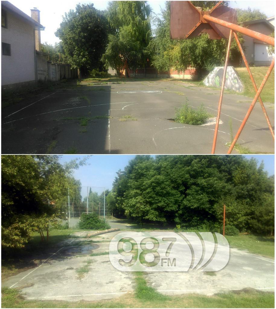 Otvaranje terena u gimnaziji, mirovic, dubravka korac, basket, basketasi (7)