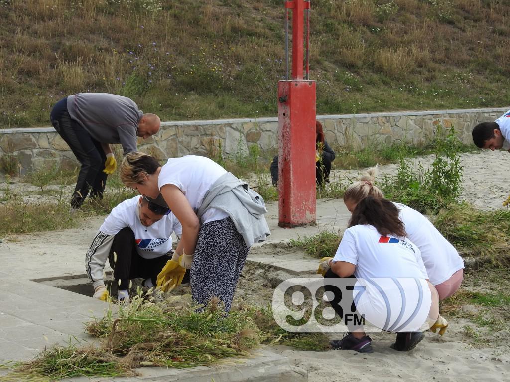 SNS Apatin, uredjenje plaze, srpska napredna stranka (2)