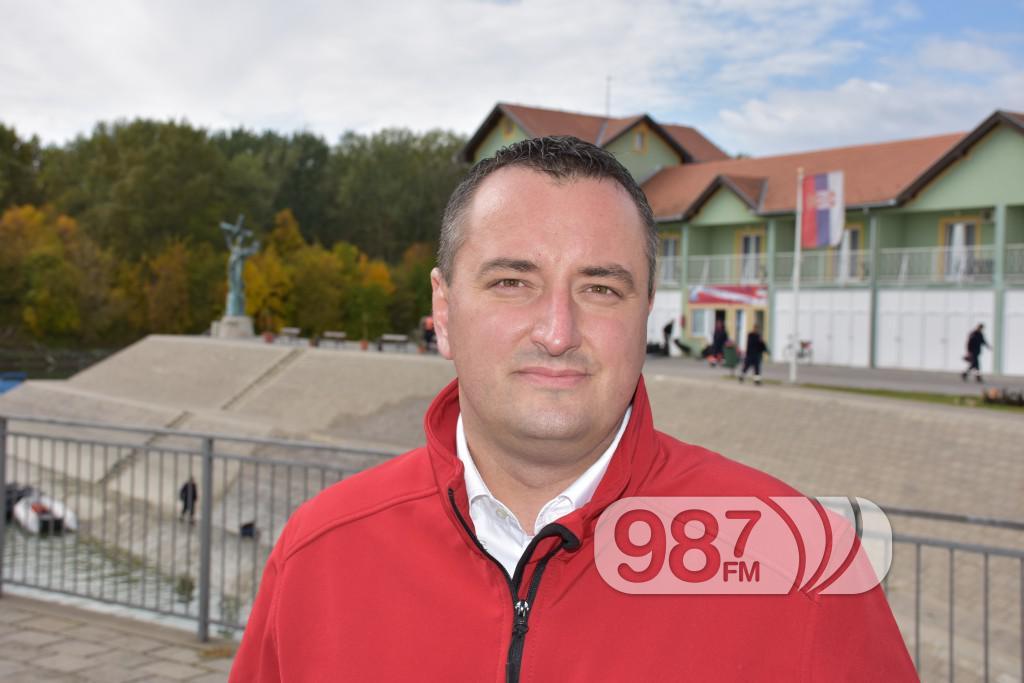 Bojan GLamoclija, direktor srpsko ruskog humanitarnog centra