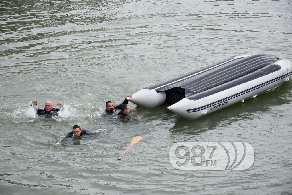 Vezba spasavanja na vodi i pod vodom, ronioci, civilna zastita (12)