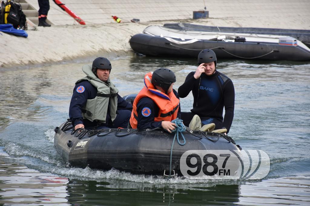 Vezba spasavanja na vodi i pod vodom, ronioci, civilna zastita (7)