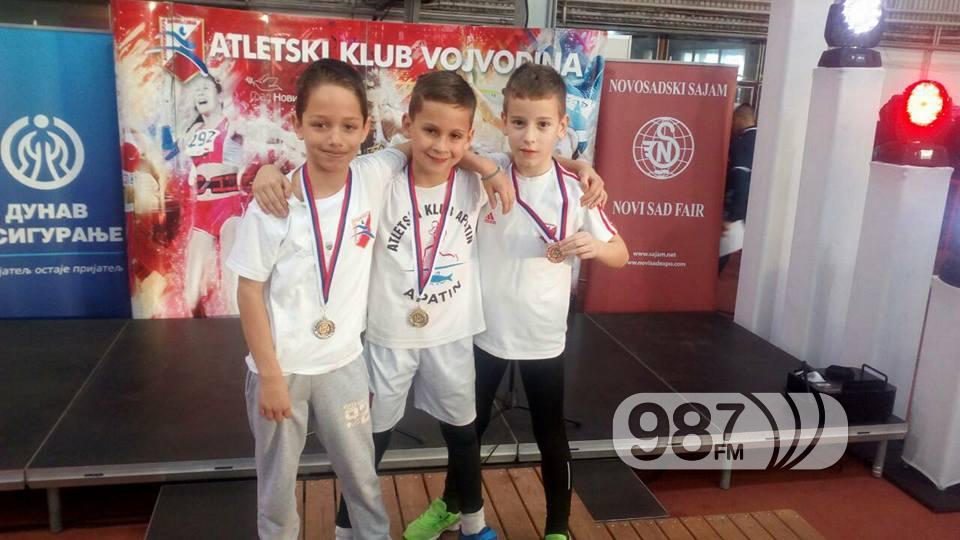 Miloš Dreković mali šampion