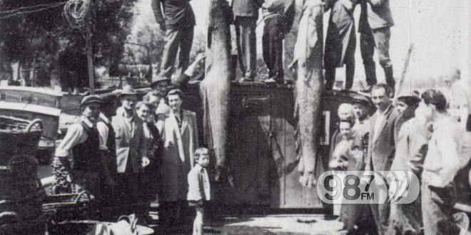 NAJVEĆI SOM ULOVLJEN KOD APATINA 1958 GODINE